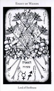 8 Жезлов The Hermetic Tarot