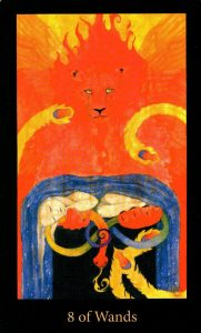 8 Жезлов The Mary-el Tarot