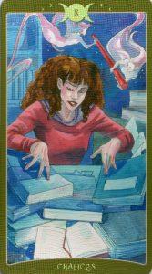 8 Кубков Таро Так и внизу. Книга Теней Том 2