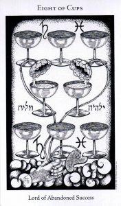 8 Кубков The Hermetic Tarot