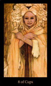 8 Кубков The Mary-el Tarot