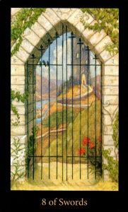 8 Мечей The Mary-el Tarot