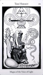 9 Аркан Отшельник The Hermetic Tarot