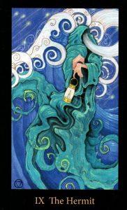 9 Аркан Отшельник The Mary-el Tarot