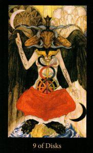 9 Дисков The Mary-el Tarot