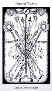 9 Жезлов The Hermetic Tarot