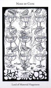 9 Кубков The Hermetic Tarot