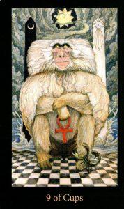 9 Кубков The Mary-el Tarot