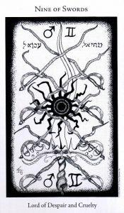 9 Мечей The Hermetic Tarot
