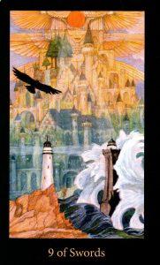 9 Мечей The Mary-el Tarot