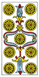 9 МонетМарсельское Таро Конвера-Бен-Дова