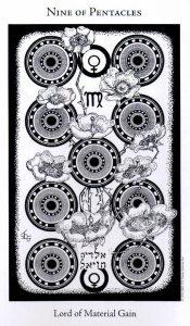 9 Пентаклей The Hermetic Tarot