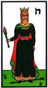 Королева Жезлов El Gran Tarot Esoterico Fournier