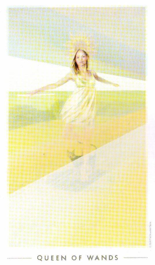 Королева Жезлов The Fountain Tarot