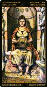 Королева Кубков Таро Возрождения 2012Tarot of Ascension