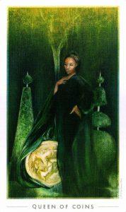 Королева Монет The Fountain Tarot