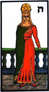 Королева Пентаклей El Gran Tarot Esoterico Fournier