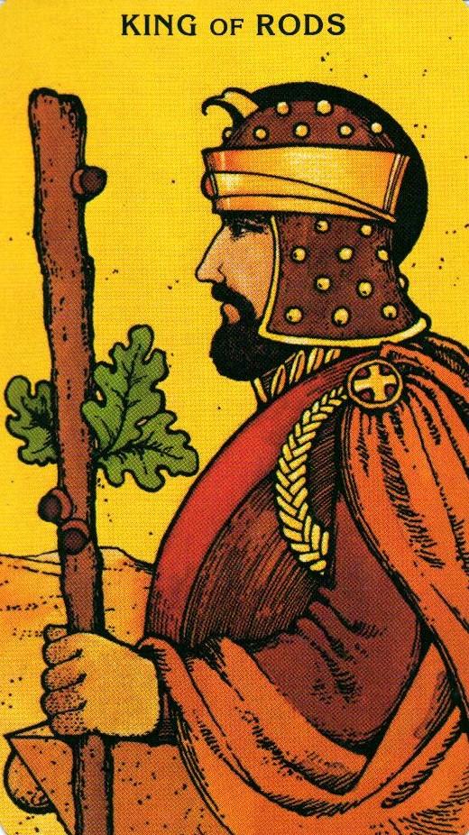 Король Жезлов Morgan - Greer Tarot