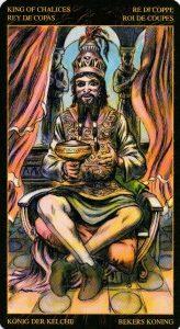 Король Кубков Таро Возрождения 2012Tarot of Ascension