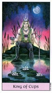Король Кубков Crystal Visions Tarot