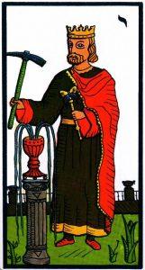 Король Кубков El Gran Tarot Esoterico Fournier