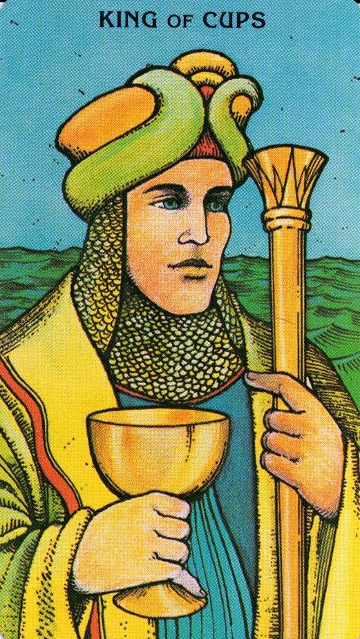Король Кубков Morgan - Greer Tarot