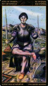 Король Мечей Таро Возрождения 2012Tarot of Ascension