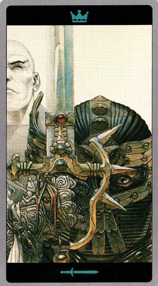 Король Мечей Таро Мета-Баронов