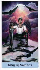 Король Мечей Crystal Visions Tarot