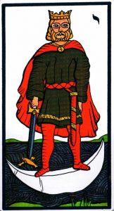 Король Мечей El Gran Tarot Esoterico Fournier