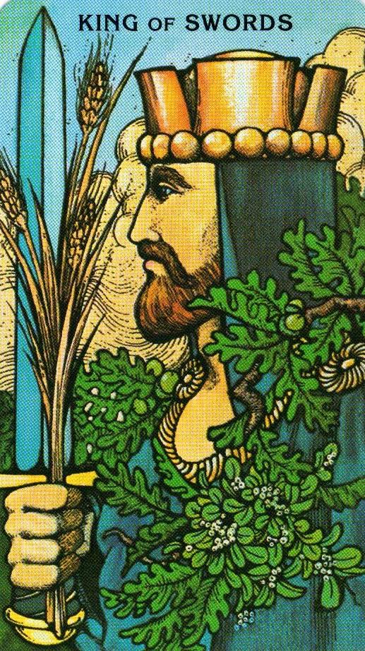 Король Мечей Morgan - Greer Tarot