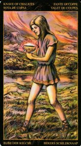Паж Кубков Таро Возрождения 2012Tarot of Ascension