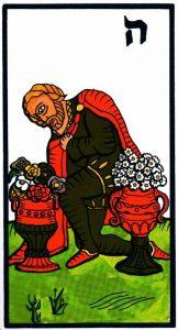 Паж Кубков El Gran Tarot Esoterico Fournier