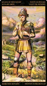 Паж Пентаклей Таро Возрождения 2012Tarot of Ascension