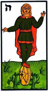 Паж Пентаклей El Gran Tarot Esoterico Fournier
