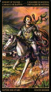 Рыцарь Жезлов Таро Возрождения 2012Tarot of Ascension