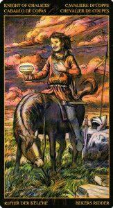 Рыцарь Кубков Таро Возрождения 2012Tarot of Ascension