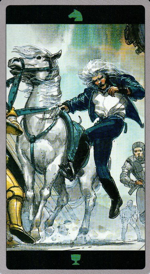 Рыцарь Кубков Таро Мета-Баронов