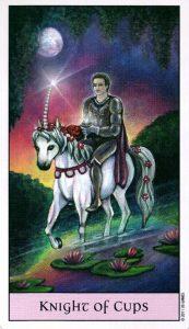 Рыцарь Кубков Crystal Visions Tarot