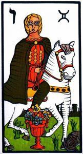 Рыцарь Кубков El Gran Tarot Esoterico Fournier
