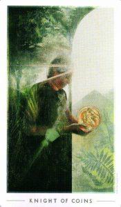Рыцарь Монет The Fountain Tarot