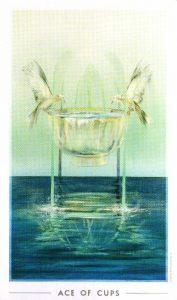 Туз Кубков The Fountain Tarot