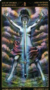 Туз Мечей Таро Возрождения 2012Tarot of Ascension