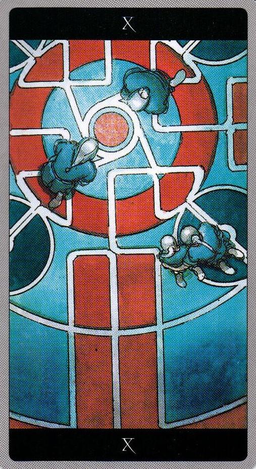 10 Колесо Фортуны Таро Мета-Баронов