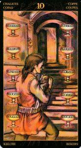 10 Кубков Таро Возрождения 2012Tarot of Ascension