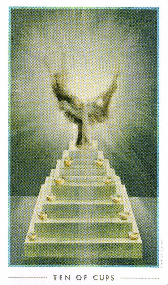 10 Кубков The Fountain Tarot