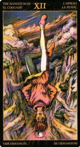 12 Повешенный Таро Возрождения 2012Tarot of Ascension