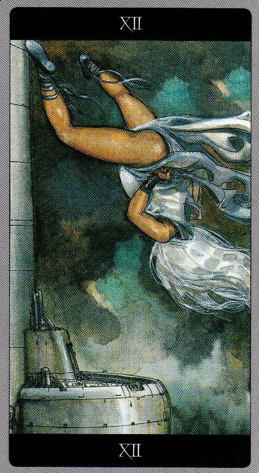 12 Повешенный Таро Мета-Баронов