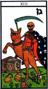 13 Аркан Смерть El Gran Tarot Esoterico Fournier