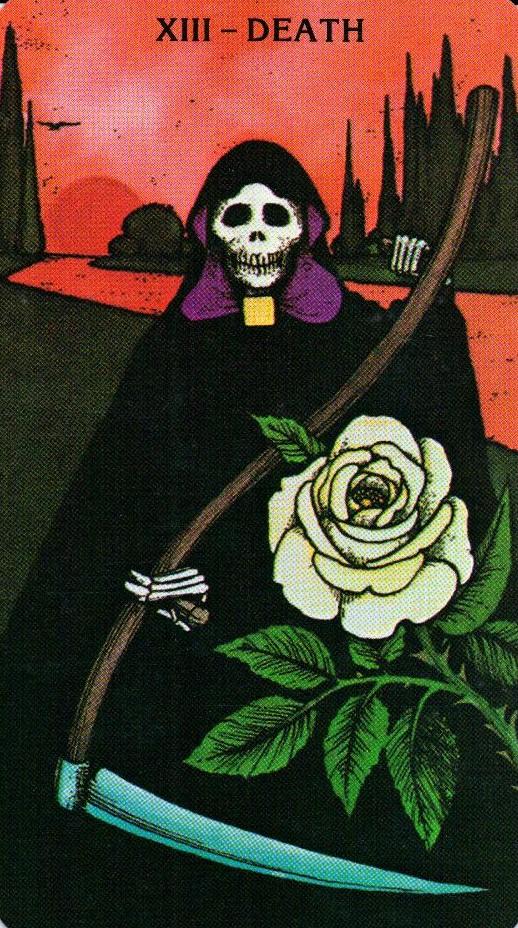13 Аркан Смерть Morgan - Greer Tarot